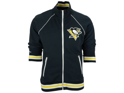 Pittsburgh Penguins Reebok NHL Men's Neutral Zone Track Jacket