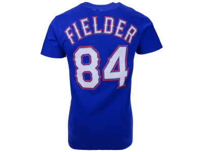 Texas Rangers Prince Fielder Majestic MLB Men's Official Player T-Shirt
