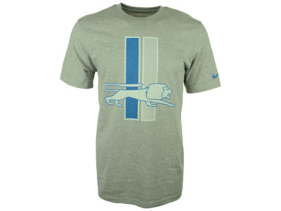 Detroit Lions Nike NFL Men's Retro Logo Scrum T-Shirt