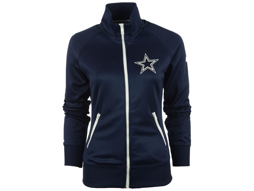 Dallas Cowboys NFL Womens MVP Track Jacket  0f94fa807