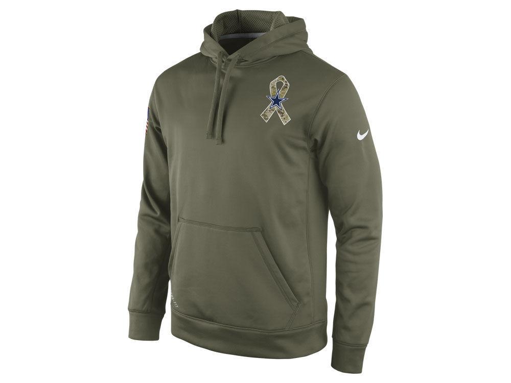 Dallas Cowboys Nike NFL Men s 2014 Salute to Service KO Hoodie ... c3a8734d2