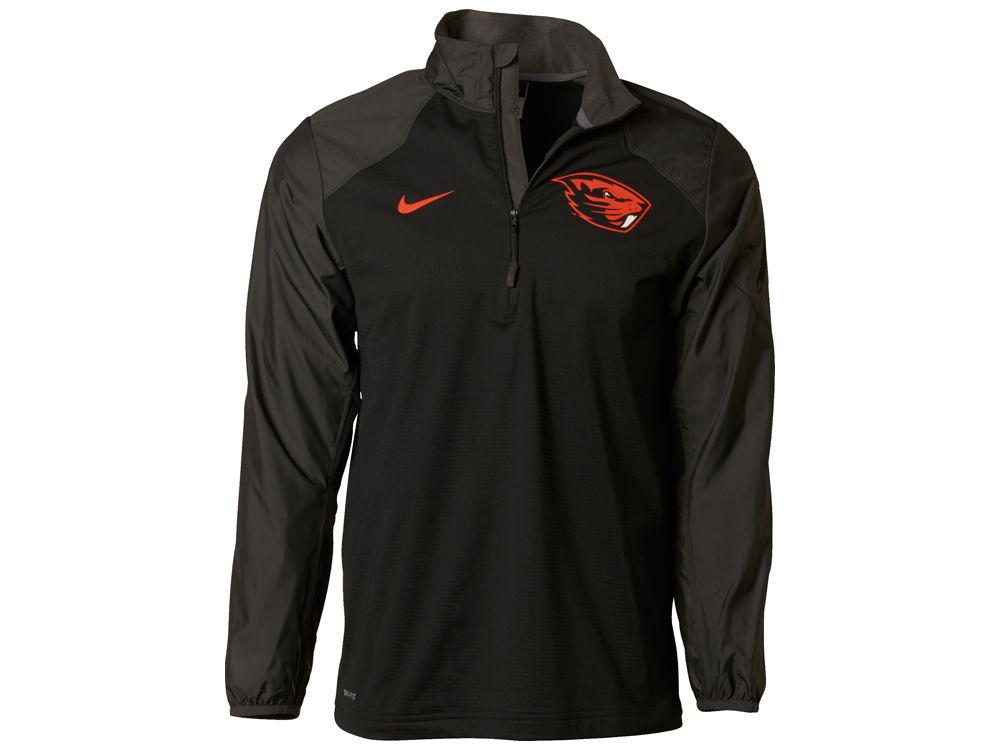 Oregon State Beavers Nike NCAA Men s Defender Hybrid Half Zip Pullover Shirt 798f0ba4e
