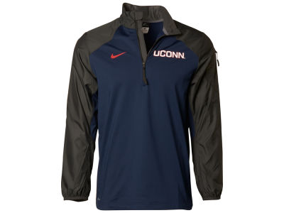 Connecticut Huskies Nike NCAA Men's Defender Hybrid Half Zip Pullover Shirt