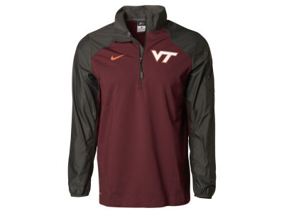 Virginia Tech Hokies Nike NCAA Men's Defender Hybrid Half Zip Pullover Shirt