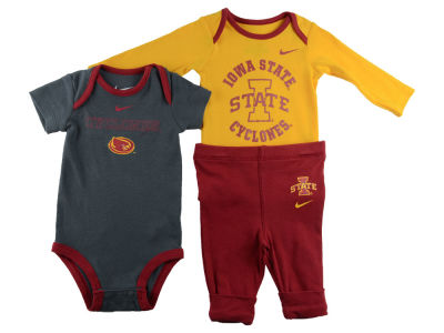 Iowa State Cyclones NCAA Newborn T-Shirts and Pants Outfit