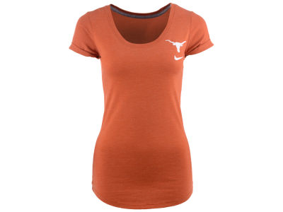Texas Longhorns Nike NCAA Womens Scoop Tri-Blend T-Shirt