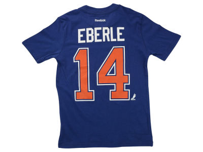 Edmonton Oilers Jordan Eberle Reebok NHL CN Youth Player T-Shirt