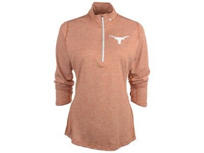 Texas Longhorns Nike NCAA Womens DF Heathered Element Half Zip Pullover