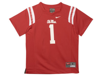 Ole Miss Rebels NCAA Kids Football Replica Jersey