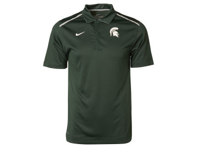 Michigan State Spartans Nike NCAA Mens Elite Coaches Polo Shirt