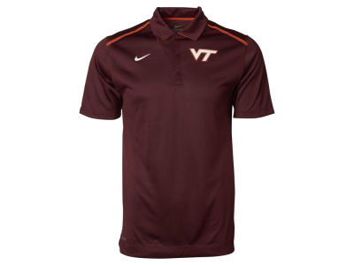 Virginia Tech Hokies Nike NCAA Mens Elite Coaches Polo Shirt