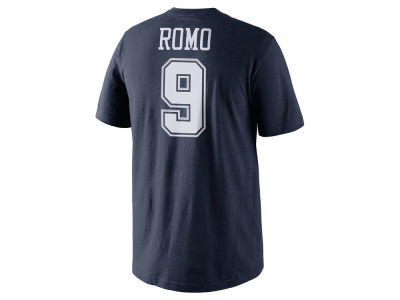 Dallas Cowboys Tony Romo NFL Pride Name and Number T-Shirt
