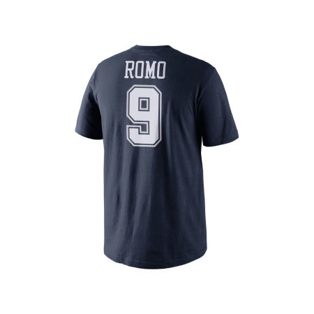 Dallas Cowboys Tony Romo NFL Men's Pride Name And Number T-Shirt
