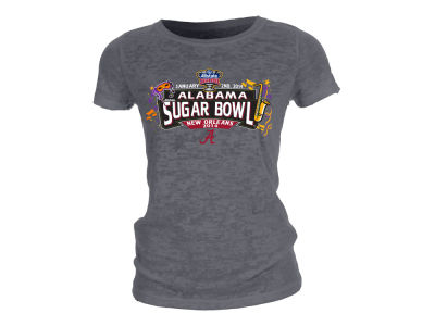 Alabama Crimson Tide Blue 84 2014 Sugar Bowl Fley T-Shirt