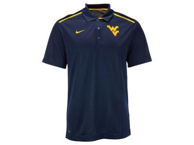 West Virginia Mountaineers Nike NCAA Mens Elite Coaches Polo Shirt
