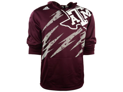 Texas A&M Aggies adidas NCAA Mens AfterShock PU Hoodie