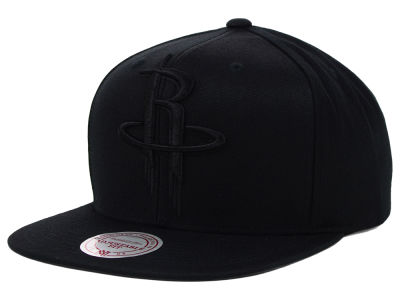 Houston Rockets Mitchell and Ness NBA Team BW Snapback Hat