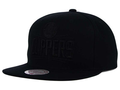Los Angeles Clippers Mitchell and Ness NBA Team BW Snapback Hat