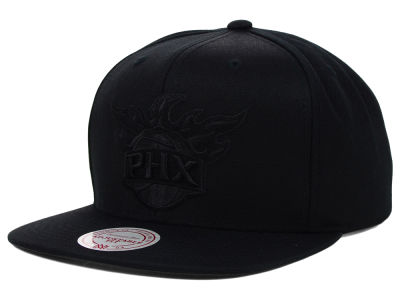 Phoenix Suns Mitchell & Ness NBA Team BW Snapback Hat