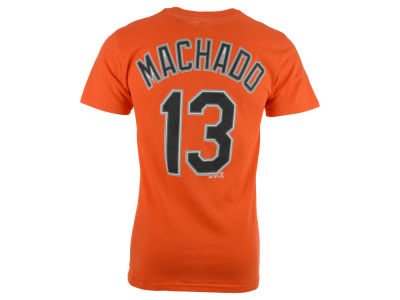 Baltimore Orioles Manny Machado Majestic MLB Men's Official Player T-Shirt