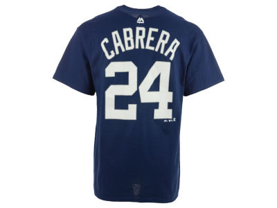 Detroit Tigers Miguel Cabrera Majestic MLB Men's Official Player T-Shirt