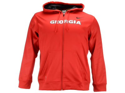 Georgia Bulldogs Nike NCAA Warp KO Full Zip Hoodie