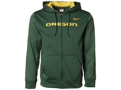 Oregon Ducks Nike NCAA Warp KO Full Zip Hoodie