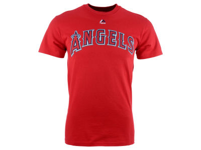 Los Angeles Angels C.J. Wilson Majestic MLB Men's Official Player T-Shirt