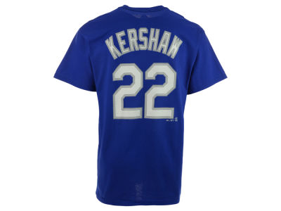 Los Angeles Dodgers Clayton Kershaw Majestic MLB Men's Official Player T-Shirt