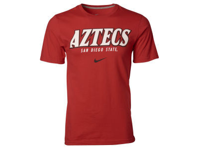 San Diego State Aztecs NCAA Slanted School Name T-Shirt