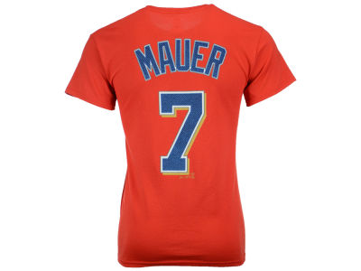 Minnesota Twins Joe Mauer Majestic MLB Men's Official Player T-Shirt