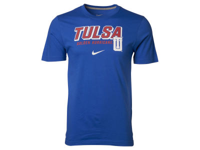Tulsa Golden Hurricane NCAA Slanted School Name T-Shirt