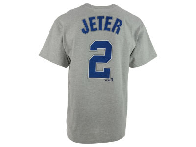 New York Yankees Derek Jeter Majestic MLB Men's Official Player T-Shirt