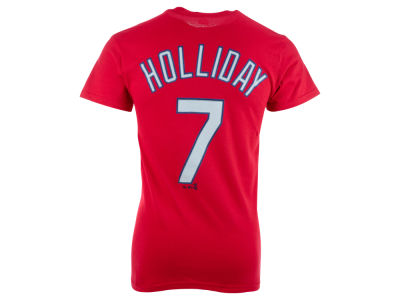 St. Louis Cardinals Matt Holliday Majestic MLB Men's Official Player T-Shirt