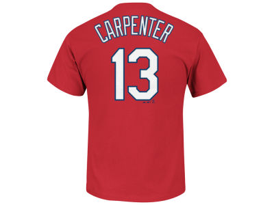 St. Louis Cardinals Matt Carpenter Majestic MLB Men's Official Player T-Shirt
