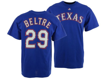 Texas Rangers Adrian Beltre Majestic MLB Men's Official Player T-Shirt