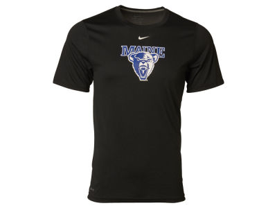 Maine Black Bears NCAA Men's Large Logo Dri Fit T-Shirt