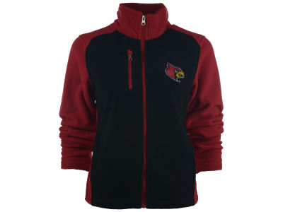 Louisville Cardinals NCAA Women's Tactical Polar Full Zip Fleece Jacket
