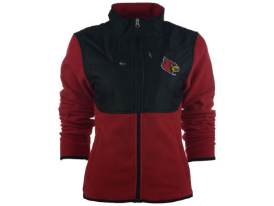 Louisville Cardinals NCAA Men's Tactical Polar Full Zip Fleece Jacket