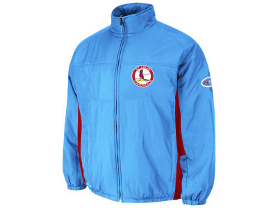 St. Louis Cardinals Majestic MLB Men's Double Climate Cooperstown Jacket