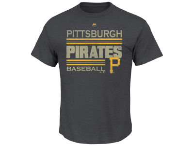 Pittsburgh Pirates Majestic MLB Men's Cooperstown The Struggle T-Shirt