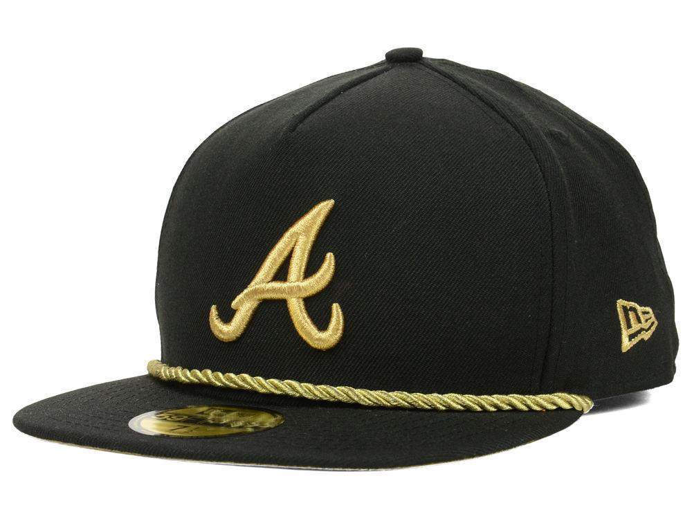 Atlanta Braves New Era MLB Hall A-Frame 59FIFTY Cap | lids.com