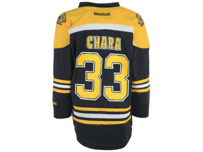 Boston Bruins Zdeno Chara NHL Kids Replica Player Jersey