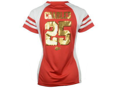 Kansas City Chiefs Jamaal Charles NFL Womens Draft Him IV Top