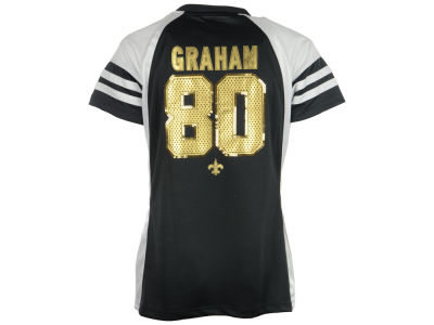 New Orleans Saints Jimmy Graham NFL Womens Draft Him IV Top