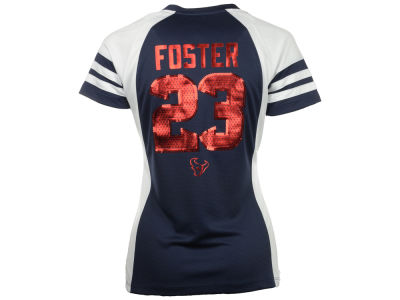 Houston Texans Arian Foster NFL Womens Draft Him IV Top