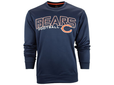 Chicago Bears NFL Men's Zone Read Synthetic Crew Sweatshirt