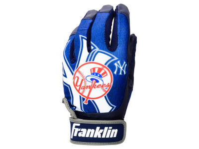 New York Yankees Youth Sublimated Batting Gloves