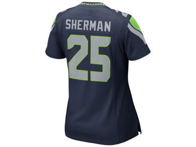 Seattle Seahawks Richard Sherman Nike NFL Women's Game Jersey