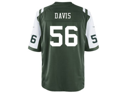 New York Jets Demario Davis Nike NFL Men's Game Jersey